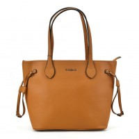 SY2155 Yellow - Women Tote Bag With Metal Detail
