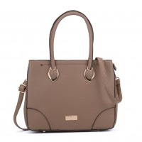 SY2156 Camel - Women Tote Bag With Metal Detail