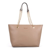 SY5044 Camel - Winged Tote Bag With Chain Straps