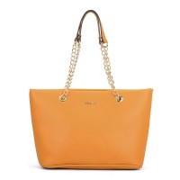 SY5044 Yellow - Winged Tote Bag With Chain Straps