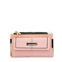 SY5054 Pink - Long Wallet With Flap Design