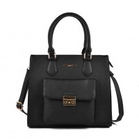 VK2054 Black - Classic Design Women Sold Handbags