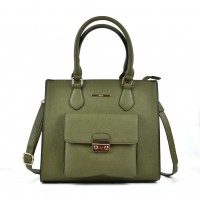 VK2054 Green - Classic Design Women Sold Handbags