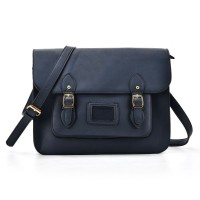 VK2093 Blue - Cambridge Style Satchel Messenger Bag