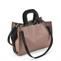 VK2099 Pink - Lady Structured Tote Bag