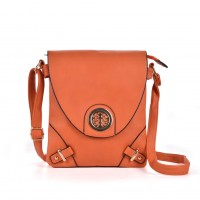 VK5019-1 Orange - Fashion Sequined Patchwork Hasp Envelope Bags