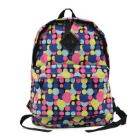 VK5040 H - Fashion Colorful Balls Printed Women Backpack