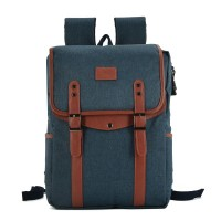 VK5044-1 Blue - Simple Hike Flap Backpacks
