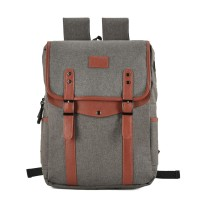 VK5044-1 Dark grey - Simple Hike Flap Backpacks