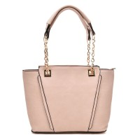 VK5194 Pink - Simple Lady Chain Handle Tote Bag