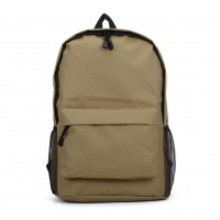 VK5204 Apricot - Classic Padded Canvas Daypack Backpack