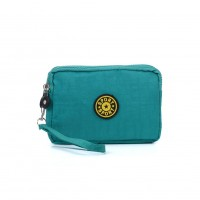 VK5252 Green - Fashion Solid Large Wallet