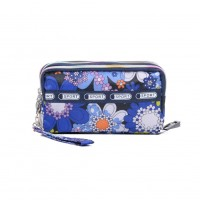 VK5253 A - Flower Pattern Large Wallet