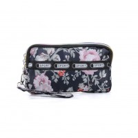 VK5253 D - Flower Pattern Large Wallet