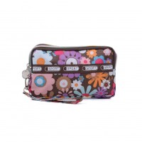 VK5253 E - Flower Pattern Large Wallet