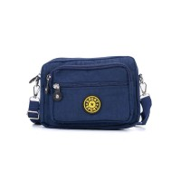 VK5254-1 Lake Blue - Women Casual Solid Portable Crossbody Bags