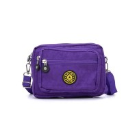 VK5254-1 Light Purple - Women Casual Solid Portable Crossbody Bags