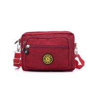 VK5254-1 Red - Women Casual Solid Portable Crossbody Bags