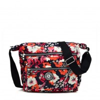 VK5417 I - Colorful Floral Sports Waist Bag