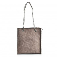 VK5474 Apricot - Women Handbag With Long Chain Handles