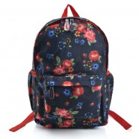VK5488 D - Patchwork Floral Patterns Backpack
