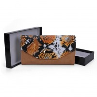 VKP1454 Brown - Colorful Snakeskin Women Hasp Fashion Wallet