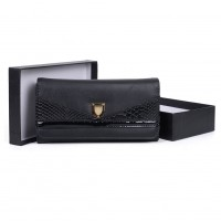 VKP1480 Black - New Style Patchwork Purse