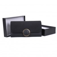 VKP1488 Black - Fashion Women Elegant Solid Wallet