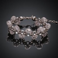 B003-A Hot Sell Crystal Chain Bracelet for Women Luxury High Quality Jewelry Christmas gift