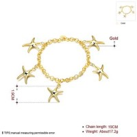 B014 Wholesale Nickle Free Antiallergic Real Gold Plated Earrings For Women New Fashion Jewelry